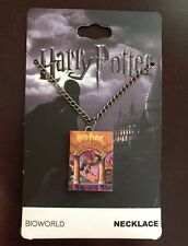 Harry Potter Necklace The Sorcerers Stone 3D Book Pendant