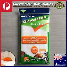 3Yards Cheesecloth 100% Cotton Cheese Cloth Cheesemaking Lint Free Mozzarella AU
