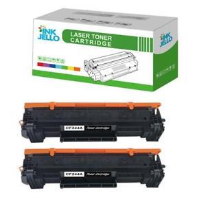 2 Black Toner Cartridge for HP CF244A LaserJet Pro MFP M28a M28w MFP M28w M17a