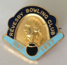 Revesby Bowling Club Badge Est 1957 Rare Vintage (K6)