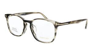 Tom Ford FT5505-F 5  Black Rounded Square Eyeglasses
