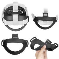 Für Oculus Quest 2 VR Brillen Head Kopfkissen Strap Pad Headband Fixing Zubehör