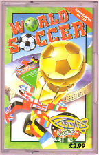World Soccer (Zeppelin) Commodore 64 - GC & Complete