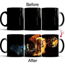 Game of Thrones John Snow Daenerys Heat Sensitive Color Changing Coffee Tea Mug