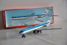 KLM BLECH Flugzeug Schwungrad OVP DDR Spielzeug Blechflugzeug Annaberg - Bucholz