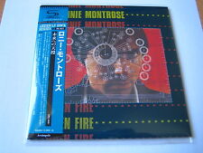"Ronnie Montrose ""Open Fire"" Japan mini LP SHM CD"