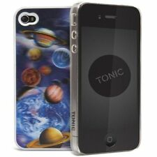 Cygnett Tonic iPhone 4S / 4 3D MOTION SLIM Slimfit custodia / coperchio / pelle blu pianeti
