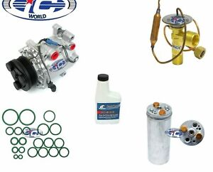 A/C Compressor Kit Fits Mitsubishi Mirage 1998-2002 OEM MSC90C 77483