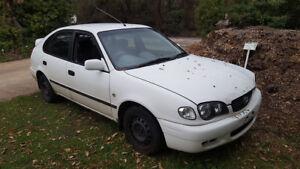 Toyota Corolla AE112 - 1998 - 2001 - Wrecking Car - White