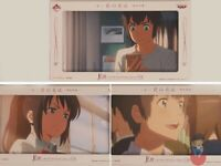Your Name (Kimi no Na Wa) Ichiban Kuji BANPRESTO Anime Frame Postcard set | Vari
