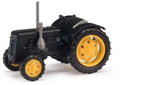 Busch 211006806 - 1/120 / Tt Tractor Famulus - Black/Yellow Rims - New