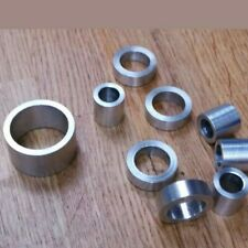 STAINLESS STEEL SPACERS STANDOFF BUSHES DIAMETERS LENGTHS & BOLT CLEARANCE HOLES