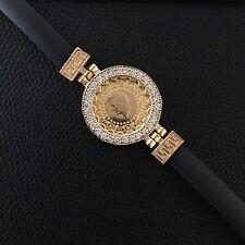 🌸Ceyrek Bileklik Gold Armband vergoldet Altin Kaplama Atatürk Münze Neu🌸