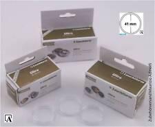 Leuchtturm 10er-Pack Münzkapseln RANDLOS Ultra Premium Caps 41