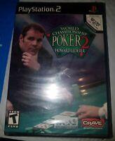 World Championship Poker 2 Featuring Howard Lederer (Sony PlayStation 2) New