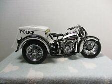 1/10 LOOSE FRANKLIN MINT HARLEY DAVIDSON POLICE SERVI-CAR