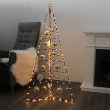 Weihnachtsdeko H130cm Aufsteller Weihnachtsbaum Christbaum Tannenbaum Metall