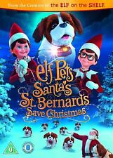Elf Pets Santas St Bernards Save Christmas DVD New R4 Elf on the shelf Sequel