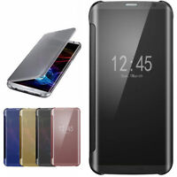 Mirror Flip Clear View Smart Case Skin Cover for Samsung Galaxy S7 / S7 EDGE
