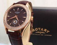 Rotary Gold Plated Case Wristwatches with 12-Hour Dial