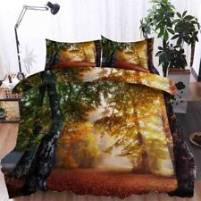 Deep Situation 3D Printing Duvet Quilt Doona Covers Pillow Case Bedding Sets