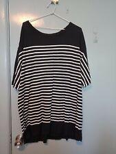 Ksubi black and white long sleeved sweatshirt in size XXL