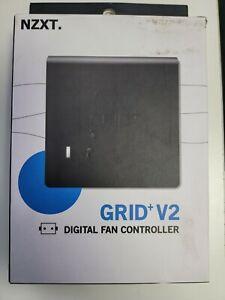 Nzxt GRID+V2, 12V Digital Fan Controller with Molex 4-Pin connector