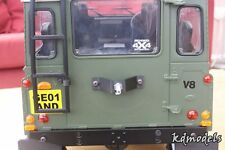 Custom Bonnet or Rear Spare Wheel Mount for Crawler RC4WD D90 SCx10 CC01
