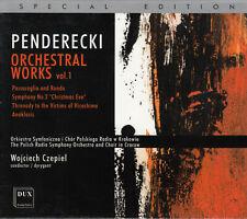 Penderecki - Orchestral Works Vol 1 CD 2005, Pappschuber Special Edition Klassik