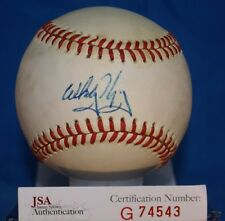 Whitey Herzog Jsa Cert Autograph National League Baseball Authentic Signed