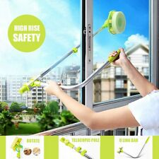Telescopic High-rise Window Glass Cleaning Cleaner Brush Windows Dust Foam Brush