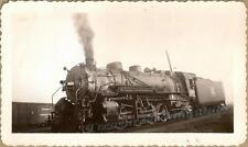 1920s Rock Island Railroad Steam Train Engine #2679 & Coal Tender Rail Car Photo