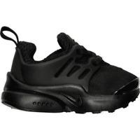 Boys' Toddler Nike Little Presto Casual Shoes Black/Black/Black 844767 003 Size