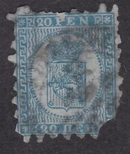 Finland - 1866 - 20 pen blue - Used (C1B)