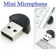 USB Plug Small Mini Desktop Studio Speech Recording Microphone F Skype Msn