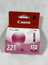 Canon 221 ink Cartridges Magenta