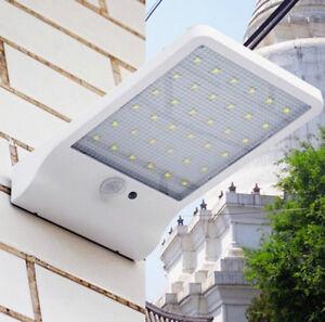 Waterproof 36 LED Solar Powered Sensor Night Security Lamp Outdoor Garden Light