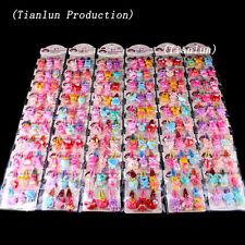 30pcs(10 Packets) Mixed Assorted  Baby Kid Children Girls Cartoon Hair Pin Clips