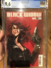 Black Widow #2 CGC 9.6 🔥 Okazaki 1:25 Variant 🔥 Super Sexy Anime Cover L@@K!