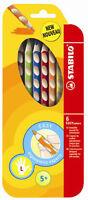 Stabilo Farbstift Easycolors im 6er Etui für Linkshänder