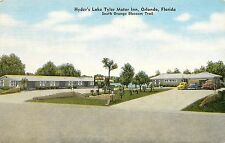Unposted Linen PC Hyder's Lake Tyler Motor Inn Orlando FL S Orange Blossom Trail