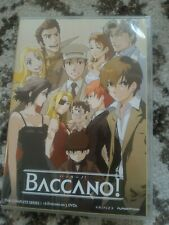 Baccano: The Complete Series (DVD, 2010, 3-Disc Set) US / Canada Region A