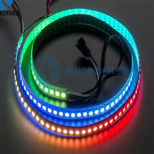 5V WS2812B 5050 RGB LED 60 Leds Strip 60LED Individual Addressable White PCB 1M