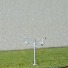 5 x N Scale Led light Model train Railroad street Lamp post + resistors #511NWH