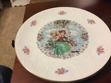 Royal Doulton Bone China Valentine's Day 1980 Collector's Plate