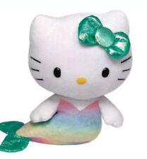 "Ty 2014 Hello Kitty Mermaid Plush 6"" - New"
