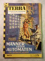 Männer gegen Automaten, William F. Temple, Terra Utopische Romane, Moewig