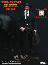 REDMAN TOYS 1/6 Scale Figures Lee Van Cleef  Cowboy The good The bad imimine