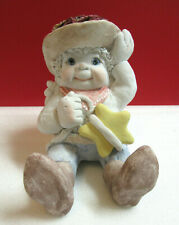 Dreamsicles Sugarfoot Star Cowboy Western Cast Art Angel Cherub Figurine