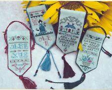 Historic Needlework Guild Sampler Banners X-stitch Chart